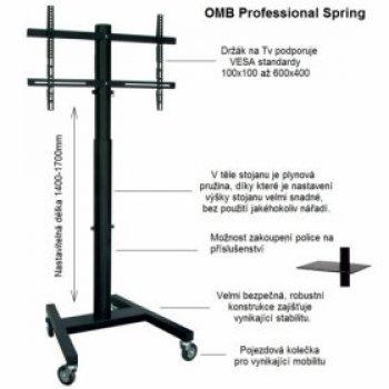 Tv stojan OMB Professional Spring