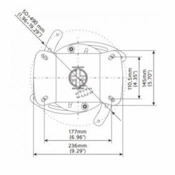 Profesionální stropní držák na projektor EDBAK PM8