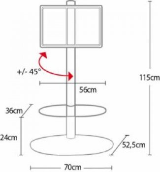 Televizní stojan (stolek) OMB Screen tower