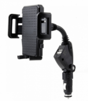 Držák na mobil do auta do napájení HS-1701