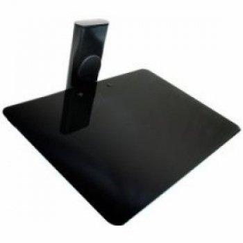Skleněná polička pod televizi na příslušenství OMB GLASS 1