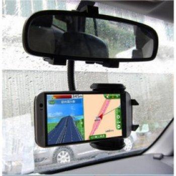 Držák mobilu na zpětné zrcátko do auta HS-1207