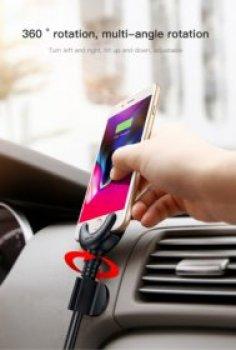 Nabíjecí držák na mobilní telefon Apple do auta HS-3102