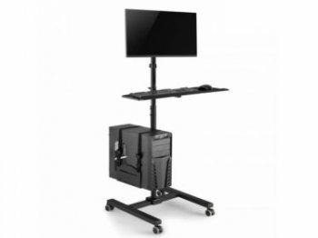 Pojízdný stojan na PC monitor a klávesnici MC-793
