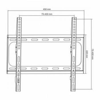 Nástěnný TV držák HS-0151