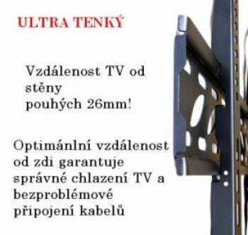 Fixní Tv držák Fiber Novelty FN-44-F