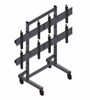 Mobilní stojan pro čtyři TV EDBAK VWT-2247-L