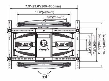Technický výkres držáku X6