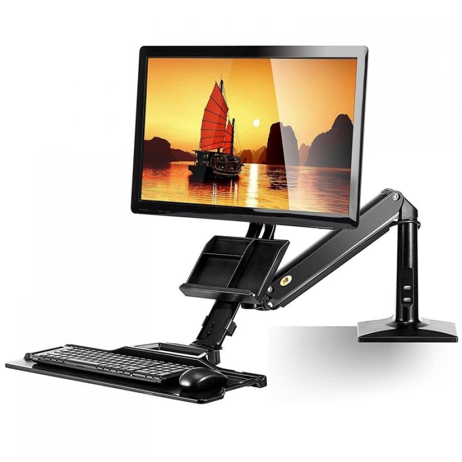 Luxusní držák na monitor a klávesnici Northbayou FC-35